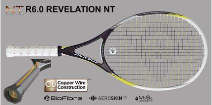 Obrázek z tenisová raketa Dunlop R6.0 Revelation NT